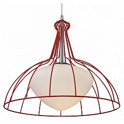 Подвесной светильник ST-LuceСветодиодные<br>Артикул - SL750.603.01,Бренд - ST-Luce (Китай),Коллекция - SL750,Гарантия, месяцы - 24,Высота, мм - 1200,Диаметр, мм - 400,Размер упаковки, мм - 410х410х480,Тип лампы - компактная люминесцентная [КЛЛ] ИЛИнакаливания ИЛИсветодиодная [LED],Общее кол-во ламп - 1,Напряжение питания лампы, В - 220,Максимальная мощность лампы, Вт - 60,Лампы в комплекте - отсутствуют,Цвет плафонов и подвесок - белый, красный,Тип поверхности плафонов - матовый,Материал плафонов и подвесок - металл, стекло,Цвет арматуры - хром,Тип поверхности арматуры - глянцевый,Материал арматуры - металл,Возможность подлючения диммера - можно, если установить лампу накаливания,Тип цоколя лампы - E27,Класс электробезопасности - I,Степень пылевлагозащиты, IP - 20,Диапазон рабочих температур - комнатная температура,Дополнительные параметры - регулируется по высоте,  способ крепления светильника к потолку – на монтажной пластине<br>