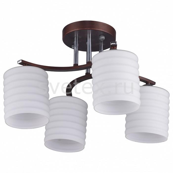 Люстра на штанге IDLampЛюстры<br>Артикул - ID_878_4PF-Darkcopper,Бренд - IDLamp (Италия),Коллекция - 878,Гарантия, месяцы - 24,Время изготовления, дней - 1,Длина, мм - 370,Ширина, мм - 350,Высота, мм - 280,Тип лампы - компактная люминесцентная [КЛЛ] ИЛИнакаливания ИЛИсветодиодная [LED],Общее кол-во ламп - 4,Напряжение питания лампы, В - 220,Максимальная мощность лампы, Вт - 40,Лампы в комплекте - отсутствуют,Цвет плафонов и подвесок - белый,Тип поверхности плафонов - матовый,Материал плафонов и подвесок - стекло,Цвет арматуры - венге, хром,Тип поверхности арматуры - глянцевый,Материал арматуры - металл,Количество плафонов - 4,Возможность подлючения диммера - можно, если установить лампу накаливания,Тип цоколя лампы - E27,Общая мощность, Вт - 160,Степень пылевлагозащиты, IP - 20,Диапазон рабочих температур - комнатная температура<br>