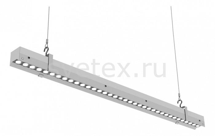 Подвесной светильник Led EffectСветильники<br>Артикул - LED_388772,Бренд - Led Effect (Россия),Коллекция - Ритейл Оптик,Гарантия, месяцы - 36,Длина, мм - 889,Ширина, мм - 54,Высота, мм - 95,Размер упаковки, мм - 900x60x100,Тип лампы - светодиодная [LED],Общее кол-во ламп - 1,Максимальная мощность лампы, Вт - 40,Цвет лампы - белый теплый,Лампы в комплекте - светодиодная [LED],Цвет плафонов и подвесок - неокрашенный,Тип поверхности плафонов - прозрачный,Материал плафонов и подвесок - полимер,Цвет арматуры - белый,Тип поверхности арматуры - матовый,Материал арматуры - металл,Количество плафонов - 1,Цветовая температура, K - 3000 K,Световой поток, лм - 3700,Экономичнее лампы накаливания - В 5, 9 раза,Светоотдача, лм/Вт - 93,Ресурс лампы - 50 тыс. час.,Класс электробезопасности - I,Напряжение питания, В - 175-260,Коэффициент мощности - 0.95,Степень пылевлагозащиты, IP - 20,Диапазон рабочих температур - от -60^C до +50^C,Индекс цветопередачи, % - 80,Пульсации светового потока, % менее - 1,Климатическое исполнение - УХЛ 4,Дополнительные параметры - указана высота светильника без подвеса<br>