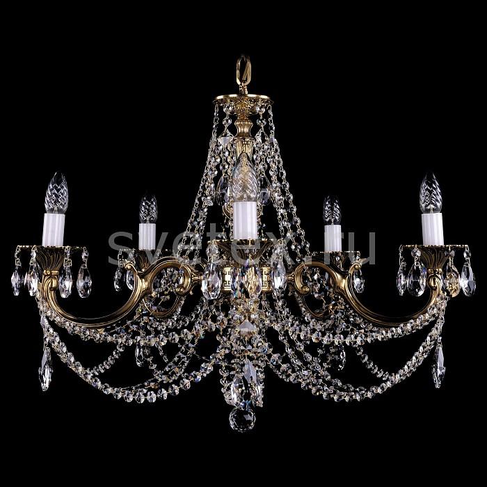 Фото Подвесная люстра Bohemia Ivele Crystal 1702 1702/5/C/GB