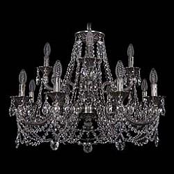 Подвесная люстра Bohemia Ivele CrystalБолее 6 ламп<br>Артикул - BI_1702_8_4_265_181_C_NB,Бренд - Bohemia Ivele Crystal (Чехия),Коллекция - 1702,Гарантия, месяцы - 24,Высота, мм - 500,Диаметр, мм - 720,Размер упаковки, мм - 710x710x350,Тип лампы - компактная люминесцентная [КЛЛ] ИЛИнакаливания ИЛИсветодиодная [LED],Общее кол-во ламп - 12,Напряжение питания лампы, В - 220,Максимальная мощность лампы, Вт - 40,Лампы в комплекте - отсутствуют,Цвет плафонов и подвесок - неокрашенный,Тип поверхности плафонов - прозрачный,Материал плафонов и подвесок - хрусталь,Цвет арматуры - никель черненый,Тип поверхности арматуры - глянцевый, рельефный,Материал арматуры - латунь,Возможность подлючения диммера - можно, если установить лампу накаливания,Форма и тип колбы - свеча ИЛИ свеча на ветру,Тип цоколя лампы - E14,Класс электробезопасности - I,Общая мощность, Вт - 480,Степень пылевлагозащиты, IP - 20,Диапазон рабочих температур - комнатная температура,Дополнительные параметры - способ крепления светильника к потолку - на крюке, указана высота светильника без подвеса<br>