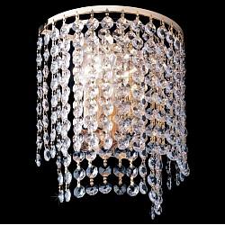 Накладной светильник EurosvetСветодиодные<br>Артикул - EV_4595,Бренд - Eurosvet (Китай),Коллекция - 3122,Гарантия, месяцы - 24,Время изготовления, дней - 1,Высота, мм - 240,Тип лампы - компактная люминесцентная [КЛЛ] ИЛИнакаливания ИЛИсветодиодная [LED],Общее кол-во ламп - 2,Напряжение питания лампы, В - 220,Максимальная мощность лампы, Вт - 60,Лампы в комплекте - отсутствуют,Цвет плафонов и подвесок - неокрашенный,Тип поверхности плафонов - прозрачный,Материал плафонов и подвесок - хрусталь Strotskis,Цвет арматуры - золото,Тип поверхности арматуры - глянцевый,Материал арматуры - металл,Возможность подлючения диммера - можно, если установить галогеновую лампу и лампу накаливания,Тип цоколя лампы - E14,Общая мощность, Вт - 120,Степень пылевлагозащиты, IP - 20,Диапазон рабочих температур - комнатная температура,Дополнительные параметры - светильник предназначен для использования со скрытой проводкой<br>