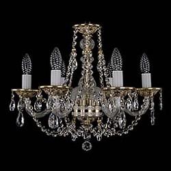 Подвесная люстра Bohemia Ivele Crystal5 или 6 ламп<br>Артикул - BI_1606_6_160_GW,Бренд - Bohemia Ivele Crystal (Чехия),Коллекция - 1606,Гарантия, месяцы - 12,Высота, мм - 390,Диаметр, мм - 500,Размер упаковки, мм - 450x450x200,Тип лампы - компактная люминесцентная [КЛЛ] ИЛИнакаливания ИЛИсветодиодная [LED],Общее кол-во ламп - 6,Напряжение питания лампы, В - 220,Максимальная мощность лампы, Вт - 40,Лампы в комплекте - отсутствуют,Цвет плафонов и подвесок - неокрашенный,Тип поверхности плафонов - прозрачный,Материал плафонов и подвесок - хрусталь,Цвет арматуры - золото беленое, неокрашенный,Тип поверхности арматуры - глянцевый, прозрачный,Материал арматуры - металл, стекло,Возможность подлючения диммера - можно, если установить лампу накаливания,Форма и тип колбы - свеча ИЛИ свеча на ветру,Тип цоколя лампы - E14,Класс электробезопасности - I,Общая мощность, Вт - 240,Степень пылевлагозащиты, IP - 20,Диапазон рабочих температур - комнатная температура,Дополнительные параметры - способ крепления светильника к потолку – на крюке<br>