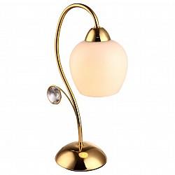 Настольная лампа Arte LampСтеклянный плафон<br>Артикул - AR_A9549LT-1GO,Бренд - Arte Lamp (Италия),Коллекция - Millo,Гарантия, месяцы - 24,Высота, мм - 360,Диаметр, мм - 130,Размер упаковки, мм - 350x260x160,Тип лампы - компактная люминесцентная [КЛЛ] ИЛИнакаливания ИЛИсветодиодная [LED],Общее кол-во ламп - 1,Напряжение питания лампы, В - 220,Максимальная мощность лампы, Вт - 60,Лампы в комплекте - отсутствуют,Цвет плафонов и подвесок - белый, неокрашенный,Тип поверхности плафонов - матовый, прозрачный,Материал плафонов и подвесок - стекло, хрусталь,Цвет арматуры - золото,Тип поверхности арматуры - глянцевый,Материал арматуры - металл,Тип цоколя лампы - E27,Класс электробезопасности - II,Степень пылевлагозащиты, IP - 20,Диапазон рабочих температур - комнатная температура<br>