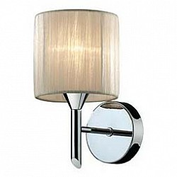 Бра Odeon LightТекстильный плафон<br>Артикул - OD_2085_1W,Бренд - Odeon Light (Италия),Коллекция - Niola,Гарантия, месяцы - 24,Время изготовления, дней - 1,Высота, мм - 230,Тип лампы - компактная люминесцентная [КЛЛ] ИЛИнакаливания ИЛИсветодиодная [LED],Общее кол-во ламп - 1,Напряжение питания лампы, В - 220,Максимальная мощность лампы, Вт - 40,Лампы в комплекте - отсутствуют,Цвет плафонов и подвесок - молочный,Тип поверхности плафонов - матовый, рельефный,Материал плафонов и подвесок - органза,Цвет арматуры - хром,Тип поверхности арматуры - глянцевый,Материал арматуры - металл,Возможность подлючения диммера - можно, если установить лампу накаливания,Тип цоколя лампы - E14,Класс электробезопасности - I,Степень пылевлагозащиты, IP - 20,Диапазон рабочих температур - комнатная температура,Дополнительные параметры - светильник предназначен для использования со скрытой проводкой<br>