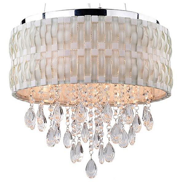 Подвесной светильник LussoleСветодиодные<br>Артикул - LSP-0195,Бренд - Lussole (Италия),Коллекция - LSP-019,Гарантия, месяцы - 24,Высота, мм - 330-1200,Диаметр, мм - 380,Тип лампы - компактная люминесцентная [КЛЛ] ИЛИнакаливания ИЛИсветодиодная [LED],Общее кол-во ламп - 6,Напряжение питания лампы, В - 220,Максимальная мощность лампы, Вт - 60,Лампы в комплекте - отсутствуют,Цвет плафонов и подвесок - белый, неокрашенный,Тип поверхности плафонов - матовый, прозрачный,Материал плафонов и подвесок - стекло, хрусталь,Цвет арматуры - хром,Тип поверхности арматуры - глянцевый,Материал арматуры - металл,Количество плафонов - 1,Возможность подлючения диммера - можно, если установить лампу накаливания,Тип цоколя лампы - E27,Класс электробезопасности - I,Общая мощность, Вт - 360,Степень пылевлагозащиты, IP - 20,Диапазон рабочих температур - комнатная температура,Дополнительные параметры - способ крепления светильника к потолоку - на монтажной пластине, регулируется по высоте<br>