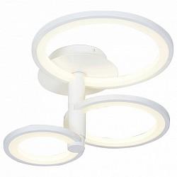 Люстра на штанге ST-LuceПолимерные плафоны<br>Артикул - SL869.502.03,Бренд - ST-Luce (Китай),Коллекция - SL869,Гарантия, месяцы - 24,Время изготовления, дней - 1,Высота, мм - 350,Диаметр, мм - 400,Размер упаковки, мм - 610х510х390,Тип лампы - светодиодная [LED],Общее кол-во ламп - 3,Напряжение питания лампы, В - 220,Максимальная мощность лампы, Вт - 12,Лампы в комплекте - светодиодные [LED],Цвет плафонов и подвесок - белый,Тип поверхности плафонов - матовый,Материал плафонов и подвесок - полимер,Цвет арматуры - белый,Тип поверхности арматуры - матовый,Материал арматуры - металл,Возможность подлючения диммера - нельзя,Класс электробезопасности - I,Степень пылевлагозащиты, IP - 20,Диапазон рабочих температур - комнатная температура,Дополнительные параметры - способ крепления светильника к потолку – на монтажной пластине<br>