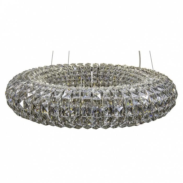 Подвесной светильник LightstarПодвесные светильники<br>Артикул - LS_741104,Бренд - Lightstar (Италия),Коллекция - Onda,Гарантия, месяцы - 24,Время изготовления, дней - 1,Высота, мм - 290-1190,Диаметр, мм - 600,Тип лампы - галогеновая ИЛИсветодиодная [LED],Общее кол-во ламп - 10,Напряжение питания лампы, В - 220,Максимальная мощность лампы, Вт - 40,Лампы в комплекте - отсутствуют,Цвет плафонов и подвесок - неокрашенный,Тип поверхности плафонов - прозрачный,Материал плафонов и подвесок - хрусталь,Цвет арматуры - хром,Тип поверхности арматуры - глянцевый,Материал арматуры - металл,Количество плафонов - 1,Возможность подлючения диммера - можно,Форма и тип колбы - пальчиковая,Тип цоколя лампы - G9,Класс электробезопасности - I,Общая мощность, Вт - 400,Степень пылевлагозащиты, IP - 20,Диапазон рабочих температур - комнатная температура,Дополнительные параметры - регулируется по высоте,  способ крепления светильника к потолку – на монтажной пластине<br>
