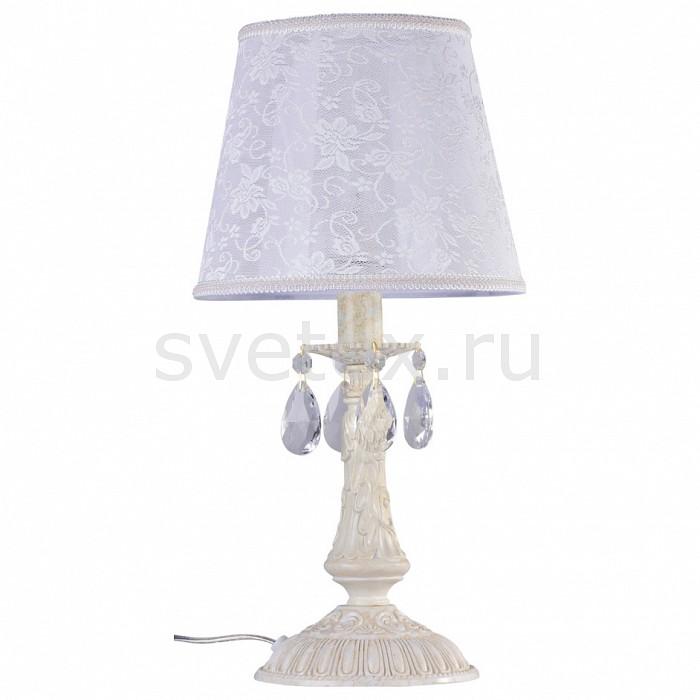 Фото Настольная лампа Maytoni Filomena ARM390-00-W