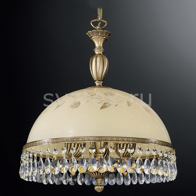 Подвесной светильник Reccagni AngeloСветодиодные<br>Артикул - RA_L_6206_38,Бренд - Reccagni Angelo (Италия),Коллекция - 6206,Гарантия, месяцы - 24,Высота, мм - 460-1580,Диаметр, мм - 380,Тип лампы - компактная люминесцентная [КЛЛ] ИЛИнакаливания ИЛИсветодиодная [LED],Общее кол-во ламп - 3,Напряжение питания лампы, В - 220,Максимальная мощность лампы, Вт - 60,Лампы в комплекте - отсутствуют,Цвет плафонов и подвесок - бежевый с рисунком и каймой, неокрашенный,Тип поверхности плафонов - матовый, прозрачный,Материал плафонов и подвесок - стекло, хрусталь,Цвет арматуры - бронза состаренная,Тип поверхности арматуры - матовый, рельефный,Материал арматуры - латунь,Количество плафонов - 1,Возможность подлючения диммера - можно, если установить лампу накаливания,Тип цоколя лампы - E27,Класс электробезопасности - I,Общая мощность, Вт - 180,Степень пылевлагозащиты, IP - 20,Диапазон рабочих температур - комнатная температура,Дополнительные параметры - способ крепления светильника к потолку - на крюке, регулируется по высоте<br>