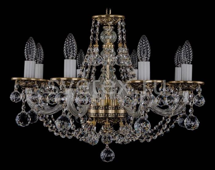 Фото Подвесная люстра Bohemia Ivele Crystal 1606 1606/8/195/GB/Balls