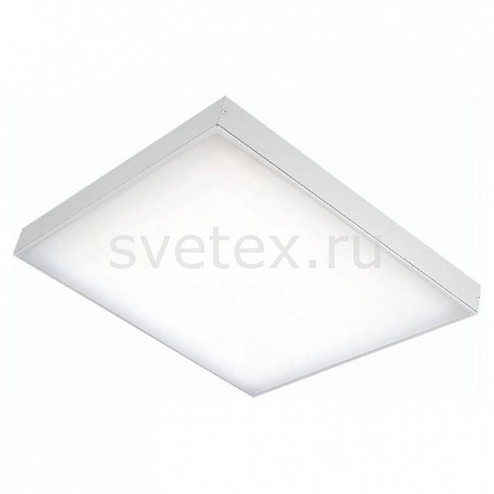 Накладной светильник Led EffectПотолочные светильники<br>Артикул - LED_386446,Бренд - Led Effect (Россия),Коллекция - Офис Комфорт,Гарантия, месяцы - 36,Длина, мм - 592,Ширина, мм - 592,Высота, мм - 60,Размер упаковки, мм - 610x610x85,Тип лампы - светодиодная [LED],Общее кол-во ламп - 1,Максимальная мощность лампы, Вт - 40,Цвет лампы - белый холодный,Лампы в комплекте - светодиодная [LED],Цвет плафонов и подвесок - белый,Тип поверхности плафонов - матовый,Материал плафонов и подвесок - полимер,Цвет арматуры - серый,Тип поверхности арматуры - матовый,Материал арматуры - металл,Количество плафонов - 1,Цветовая температура, K - 5000 K,Световой поток, лм - 3900,Экономичнее лампы накаливания - В 6, 1 раза,Светоотдача, лм/Вт - 98,Ресурс лампы - 50 тыс. час.,Класс электробезопасности - I,Напряжение питания, В - 175-260,Коэффициент мощности - 0.9,Степень пылевлагозащиты, IP - 20,Диапазон рабочих температур - от -0^C до +45^C,Индекс цветопередачи, % - 80,Пульсации светового потока, % менее - 1,Климатическое исполнение - УХЛ 4,Дополнительные параметры - опаловый рассеиватель<br>