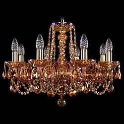Подвесная люстра Bohemia Ivele CrystalБолее 6 ламп<br>Артикул - BI_1402_8_195_G_711,Бренд - Bohemia Ivele Crystal (Чехия),Коллекция - 1402,Гарантия, месяцы - 24,Высота, мм - 400,Диаметр, мм - 570,Размер упаковки, мм - 450x450x200,Тип лампы - компактная люминесцентная [КЛЛ] ИЛИнакаливания ИЛИсветодиодная [LED],Общее кол-во ламп - 8,Напряжение питания лампы, В - 220,Максимальная мощность лампы, Вт - 40,Лампы в комплекте - отсутствуют,Цвет плафонов и подвесок - красное вино, неокрашенный,Тип поверхности плафонов - прозрачный,Материал плафонов и подвесок - хрусталь,Цвет арматуры - золото, неокрашенный,Тип поверхности арматуры - глянцевый, прозрачный, рельефный,Материал арматуры - металл, стекло,Возможность подлючения диммера - можно, если установить лампу накаливания,Форма и тип колбы - свеча ИЛИ свеча на ветру,Тип цоколя лампы - E14,Класс электробезопасности - I,Общая мощность, Вт - 320,Степень пылевлагозащиты, IP - 20,Диапазон рабочих температур - комнатная температура,Дополнительные параметры - способ крепления светильника к потолку - на крюке, указана высота светильника без подвеса<br>