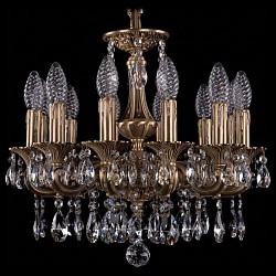 Подвесная люстра Bohemia Ivele CrystalБолее 6 ламп<br>Артикул - BI_1707_12_125_A_FP,Бренд - Bohemia Ivele Crystal (Чехия),Коллекция - 1707,Гарантия, месяцы - 24,Высота, мм - 390,Диаметр, мм - 460,Размер упаковки, мм - 450x450x200,Тип лампы - компактная люминесцентная [КЛЛ] ИЛИнакаливания ИЛИсветодиодная [LED],Общее кол-во ламп - 12,Напряжение питания лампы, В - 220,Максимальная мощность лампы, Вт - 40,Лампы в комплекте - отсутствуют,Цвет плафонов и подвесок - неокрашенный,Тип поверхности плафонов - прозрачный,Материал плафонов и подвесок - хрусталь,Цвет арматуры - золото французское с патиной,Тип поверхности арматуры - глянцевый, рельефный,Материал арматуры - латунь,Возможность подлючения диммера - можно, если установить лампу накаливания,Форма и тип колбы - свеча ИЛИ свеча на ветру,Тип цоколя лампы - E14,Класс электробезопасности - I,Общая мощность, Вт - 480,Степень пылевлагозащиты, IP - 20,Диапазон рабочих температур - комнатная температура,Дополнительные параметры - способ крепления светильника к потолку - на крюке, указана высота светильника без подвеса<br>