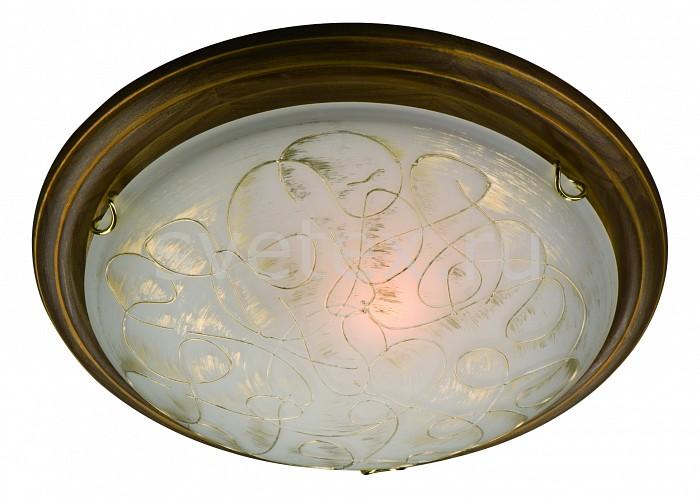 Накладной светильник SonexКруглые<br>Артикул - SN_203,Бренд - Sonex (Россия),Коллекция - Provence brown,Гарантия, месяцы - 24,Высота, мм - 110,Диаметр, мм - 460,Размер упаковки, мм - 145x470x470,Тип лампы - компактная люминесцентная [КЛЛ] ИЛИнакаливания ИЛИсветодиодная [LED],Общее кол-во ламп - 2,Напряжение питания лампы, В - 220,Максимальная мощность лампы, Вт - 100,Лампы в комплекте - отсутствуют,Цвет плафонов и подвесок - белый с золотым рисунком,Тип поверхности плафонов - матовый,Материал плафонов и подвесок - стекло,Цвет арматуры - золото, орех темный,Тип поверхности арматуры - глянцевый, матовый,Материал арматуры - дерево, металл,Количество плафонов - 1,Возможность подлючения диммера - можно, если установить лампу накаливания,Тип цоколя лампы - E27,Класс электробезопасности - I,Общая мощность, Вт - 200,Степень пылевлагозащиты, IP - 20,Диапазон рабочих температур - комнатная температура,Дополнительные параметры - способ крепления светильника к потолку - на монтажной пластине<br>