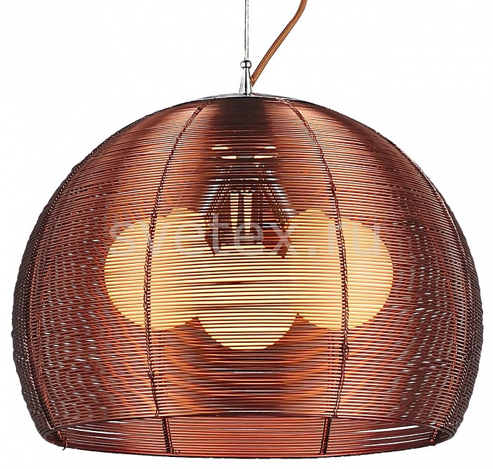 Подвесной светильник ST-LuceСветильники<br>Артикул - SL512.803.03,Бренд - ST-Luce (Италия),Коллекция - Mandrino,Гарантия, месяцы - 24,Высота, мм - 600-1450,Диаметр, мм - 400,Размер упаковки, мм - 400x400x400,Тип лампы - накаливания,Общее кол-во ламп - 3,Напряжение питания лампы, В - 220,Максимальная мощность лампы, Вт - 60,Цвет лампы - белый теплый,Лампы в комплекте - накаливания E27,Цвет плафонов и подвесок - коричневый,Тип поверхности плафонов - матовый,Материал плафонов и подвесок - металл,Цвет арматуры - коричневый,Тип поверхности арматуры - матовый,Материал арматуры - металл,Количество плафонов - 1,Возможность подлючения диммера - можно,Тип цоколя лампы - E27,Цветовая температура, K - 2700 K,Класс электробезопасности - I,Общая мощность, Вт - 180,Степень пылевлагозащиты, IP - 20,Диапазон рабочих температур - комнатная температура,Дополнительные параметры - способ крепления светильника к потолку – на крюке, регулируется по высоте<br>