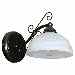 Бра АврораС 1 лампой<br>Артикул - AV_10063-1B,Бренд - Аврора (Россия),Коллекция - Сахара,Гарантия, месяцы - 24,Высота, мм - 150,Тип лампы - компактная люминесцентная [КЛЛ] ИЛИнакаливания ИЛИсветодиодная [LED],Общее кол-во ламп - 1,Напряжение питания лампы, В - 220,Максимальная мощность лампы, Вт - 60,Лампы в комплекте - отсутствуют,Тип поверхности плафонов - матовый,Материал плафонов и подвесок - стекло,Цвет арматуры - коричневый с золотой патиной,Тип поверхности арматуры - матовый,Материал арматуры - металл,Возможность подлючения диммера - можно, если установить лампу накаливания,Тип цоколя лампы - E14,Класс электробезопасности - I,Степень пылевлагозащиты, IP - 20,Диапазон рабочих температур - комнатная температура,Дополнительные параметры - способ крепления светильника на стене – на монтажной пластине, светильник предназначен для использования со скрытой проводкой<br>