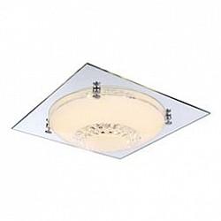 Накладной светильник GloboКвадратные<br>Артикул - GB_48251-12,Бренд - Globo (Австрия),Коллекция - Yucatan,Гарантия, месяцы - 24,Высота, мм - 85,Размер упаковки, мм - 355x125x355,Тип лампы - светодиодная [LED],Общее кол-во ламп - 1,Напряжение питания лампы, В - 13.2,Максимальная мощность лампы, Вт - 12,Лампы в комплекте - светодиодная [LED],Цвет плафонов и подвесок - белый, неокрашенный,Тип поверхности плафонов - матовый, прозрачный,Материал плафонов и подвесок - стекло, хрусталь K9,Цвет арматуры - хром,Тип поверхности арматуры - глянцевый,Материал арматуры - металл, стекло,Возможность подлючения диммера - нельзя,Класс электробезопасности - I,Степень пылевлагозащиты, IP - 20,Диапазон рабочих температур - комнатная температура,Дополнительные параметры - способ крепления светильника к потолку - на монтажной пластине<br>
