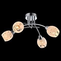Потолочная люстра EurosvetНе более 4 ламп<br>Артикул - EV_76584,Бренд - Eurosvet (Китай),Коллекция - Эверест,Гарантия, месяцы - 24,Высота, мм - 220,Диаметр, мм - 470,Тип лампы - компактная люминесцентная [КЛЛ] ИЛИнакаливания ИЛИсветодиодная [LED],Общее кол-во ламп - 4,Напряжение питания лампы, В - 220,Максимальная мощность лампы, Вт - 40,Лампы в комплекте - отсутствуют,Цвет плафонов и подвесок - белый с неокрашенным рисунком,Тип поверхности плафонов - матовый,Материал плафонов и подвесок - стекло,Цвет арматуры - хром,Тип поверхности арматуры - глянцевый,Материал арматуры - металл,Возможность подлючения диммера - можно, если установить лампу накаливания,Тип цоколя лампы - E14,Класс электробезопасности - I,Общая мощность, Вт - 160,Степень пылевлагозащиты, IP - 20,Диапазон рабочих температур - комнатная температура,Дополнительные параметры - способ крепления светильника к потолку - на монтажной пластине<br>
