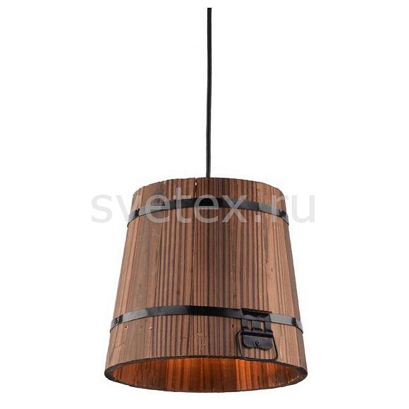 Светильник на штанге Arte LampКруглые<br>Артикул - AR_A4144SP-1BR,Бренд - Arte Lamp (Италия),Коллекция - Bruno,Гарантия, месяцы - 24,Время изготовления, дней - 1,Высота, мм - 200-1200,Диаметр, мм - 220,Тип лампы - компактная люминесцентная [КЛЛ] ИЛИнакаливания ИЛИсветодиодная [LED],Общее кол-во ламп - 1,Напряжение питания лампы, В - 220,Максимальная мощность лампы, Вт - 40,Лампы в комплекте - отсутствуют,Цвет плафонов и подвесок - коричневый,Тип поверхности плафонов - матовый,Материал плафонов и подвесок - дерево,Цвет арматуры - коричневый,Тип поверхности арматуры - матовый,Материал арматуры - металл,Количество плафонов - 1,Возможность подлючения диммера - можно, если установить лампу накаливания,Тип цоколя лампы - E27,Класс электробезопасности - I,Степень пылевлагозащиты, IP - 20,Диапазон рабочих температур - комнатная температура,Дополнительные параметры - регулируется по высоте,  способ крепления светильника к потолку – на монтажной пластине, стиль кантри<br>