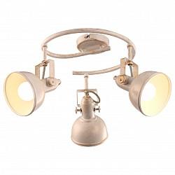 Спот Arte LampС 3 лампами<br>Артикул - AR_A5215PL-3WG,Бренд - Arte Lamp (Италия),Коллекция - Martin,Гарантия, месяцы - 24,Диаметр, мм - 360,Размер упаковки, мм - 340x300x210,Тип лампы - компактная люминесцентная [КЛЛ] ИЛИнакаливания ИЛИсветодиодная [LED],Общее кол-во ламп - 3,Напряжение питания лампы, В - 220,Максимальная мощность лампы, Вт - 40,Лампы в комплекте - отсутствуют,Цвет плафонов и подвесок - белый, золото,Тип поверхности плафонов - матовый,Материал плафонов и подвесок - металл,Цвет арматуры - белый, золото,Тип поверхности арматуры - матовый,Материал арматуры - металл,Возможность подлючения диммера - можно, если установить лампу накаливания,Тип цоколя лампы - E14,Класс электробезопасности - I,Общая мощность, Вт - 120,Степень пылевлагозащиты, IP - 20,Диапазон рабочих температур - комнатная температура,Дополнительные параметры - способ крепления светильника к потолку и стене – на монтажной пластине, поворотный светильник<br>