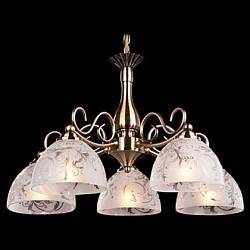 Подвесная люстра Eurosvet5 или 6 ламп<br>Артикул - EV_72984,Бренд - Eurosvet (Китай),Коллекция - 60007,Гарантия, месяцы - 24,Высота, мм - 680,Диаметр, мм - 560,Тип лампы - компактная люминесцентная [КЛЛ] ИЛИнакаливания ИЛИсветодиодная [LED],Общее кол-во ламп - 5,Напряжение питания лампы, В - 220,Максимальная мощность лампы, Вт - 60,Лампы в комплекте - отсутствуют,Цвет плафонов и подвесок - белый с рисунком,Тип поверхности плафонов - матовый,Материал плафонов и подвесок - стекло,Цвет арматуры - бронза античная,Тип поверхности арматуры - матовый,Материал арматуры - металл,Возможность подлючения диммера - можно, если установить лампу накаливания,Тип цоколя лампы - E27,Класс электробезопасности - I,Общая мощность, Вт - 300,Степень пылевлагозащиты, IP - 20,Диапазон рабочих температур - комнатная температура,Дополнительные параметры - способ крепления светильника к потолку - на монтажной пластине, регулируется по высоте<br>