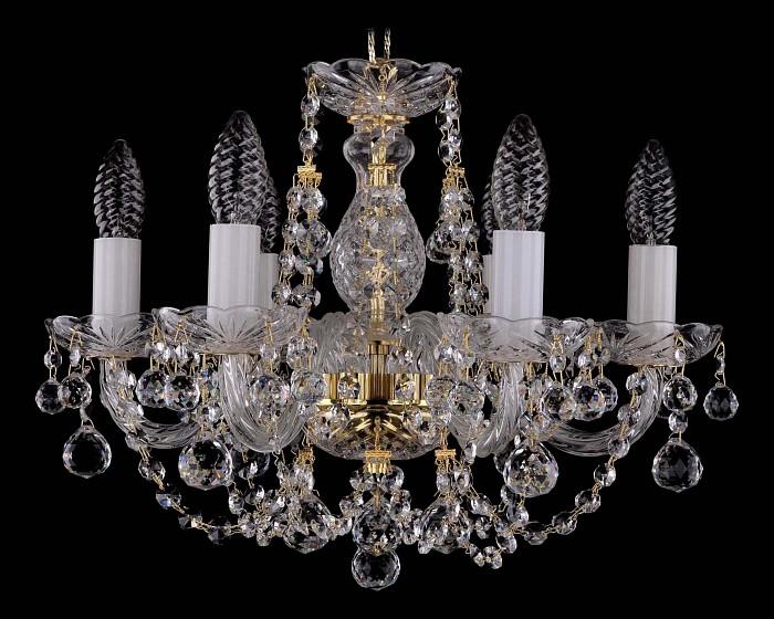 Фото Подвесная люстра Bohemia Ivele Crystal 1406 1406/6/141/G/Balls