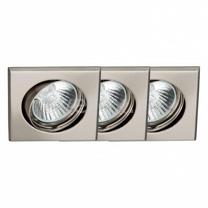Фото Комплект из 3 встраиваемых светильников Brilliant Felix G94514A13