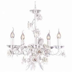Подвесная люстра Arte Lamp5 или 6 ламп<br>Артикул - AR_A2036LM-5WG,Бренд - Arte Lamp (Италия),Коллекция - Estimate,Время изготовления, дней - 1,Высота, мм - 550-1100,Диаметр, мм - 550,Тип лампы - компактная люминесцентная [КЛЛ] ИЛИнакаливания ИЛИсветодиодная [LED],Общее кол-во ламп - 5,Напряжение питания лампы, В - 220,Максимальная мощность лампы, Вт - 60,Лампы в комплекте - отсутствуют,Цвет арматуры - белый, золото, неокрашенный,Тип поверхности арматуры - глянцевый, прозрачный,Материал арматуры - керамика, металл, хрусталь,Возможность подлючения диммера - можно, если установить лампу накаливания,Форма и тип колбы - свеча ИЛИ свеча на ветру,Тип цоколя лампы - E14,Класс электробезопасности - I,Общая мощность, Вт - 300,Степень пылевлагозащиты, IP - 20,Диапазон рабочих температур - комнатная температура,Дополнительные параметры - способ крепления светильника к потолку – на монтажной пластине или крюке<br>