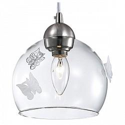 Подвесной светильник Odeon LightСветодиодные<br>Артикул - OD_2764_1A,Бренд - Odeon Light (Италия),Коллекция - Meleta,Гарантия, месяцы - 24,Высота, мм - 1250,Диаметр, мм - 180,Тип лампы - компактная люминесцентная [КЛЛ] ИЛИнакаливания ИЛИсветодиодная [LED],Общее кол-во ламп - 1,Напряжение питания лампы, В - 220,Максимальная мощность лампы, Вт - 40,Лампы в комплекте - отсутствуют,Цвет плафонов и подвесок - неокрашенный,Тип поверхности плафонов - прозрачный,Материал плафонов и подвесок - стекло,Цвет арматуры - никель,Тип поверхности арматуры - глянцевый,Материал арматуры - металл,Количество плафонов - 1,Возможность подлючения диммера - можно, если установить лампу накаливания,Тип цоколя лампы - E14,Класс электробезопасности - I,Степень пылевлагозащиты, IP - 20,Диапазон рабочих температур - комнатная температура<br>