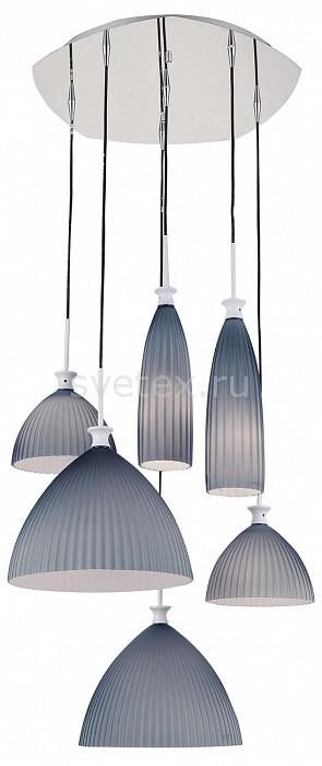 Подвесная люстра LightstarЛюстры<br>Артикул - LS_810161,Бренд - Lightstar (Италия),Коллекция - Agola,Гарантия, месяцы - 24,Высота, мм - 600-1500,Диаметр, мм - 600,Тип лампы - компактная люминесцентная [КЛЛ] ИЛИнакаливания ИЛИсветодиодная [LED],Общее кол-во ламп - 6,Напряжение питания лампы, В - 220,Максимальная мощность лампы, Вт - 40,Лампы в комплекте - отсутствуют,Цвет плафонов и подвесок - серый,Тип поверхности плафонов - матовый,Материал плафонов и подвесок - стекло,Цвет арматуры - хром,Тип поверхности арматуры - глянцевый,Материал арматуры - металл,Количество плафонов - 6,Возможность подлючения диммера - можно, если установить лампу накаливания,Тип цоколя лампы - E14,Класс электробезопасности - I,Общая мощность, Вт - 240,Степень пылевлагозащиты, IP - 20,Диапазон рабочих температур - комнатная температура,Дополнительные параметры - способ крепления к потолку - на монтажной пластине, регулируется по высоте<br>