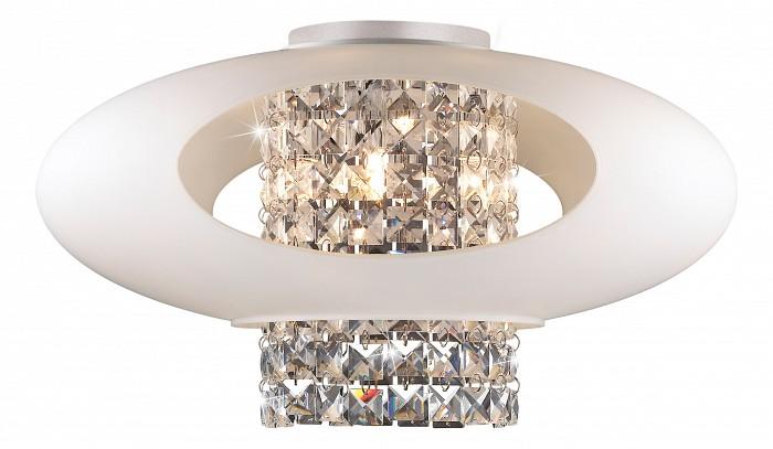 Накладной светильник Odeon LightКруглые<br>Артикул - OD_2604_4C,Бренд - Odeon Light (Италия),Коллекция - Lukka,Гарантия, месяцы - 24,Время изготовления, дней - 1,Высота, мм - 240,Диаметр, мм - 450,Тип лампы - галогеновая,Общее кол-во ламп - 4,Напряжение питания лампы, В - 220,Максимальная мощность лампы, Вт - 40,Цвет лампы - белый теплый,Лампы в комплекте - галогеновые G9,Цвет плафонов и подвесок - белый, неокрашенный,Тип поверхности плафонов - матовый,Материал плафонов и подвесок - стекло, хрусталь,Цвет арматуры - хром,Тип поверхности арматуры - глянцевый,Материал арматуры - металл,Количество плафонов - 1,Возможность подлючения диммера - можно,Форма и тип колбы - пальчиковая,Тип цоколя лампы - G9,Цветовая температура, K - 2800 - 3200 K,Экономичнее лампы накаливания - на 50 %,Класс электробезопасности - I,Общая мощность, Вт - 160,Степень пылевлагозащиты, IP - 20,Диапазон рабочих температур - комнатная температура<br>
