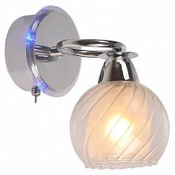 Бра IDLampС 1 лампой<br>Артикул - ID_224_1A-Chrome,Бренд - IDLamp (Италия),Коллекция - 224,Высота, мм - 200,Тип лампы - компактная люминесцентная [КЛЛ] ИЛИнакаливания ИЛИсветодиодная [LED],Общее кол-во ламп - 1,Напряжение питания лампы, В - 220,Максимальная мощность лампы, Вт - 60,Лампы в комплекте - отсутствуют,Цвет плафонов и подвесок - белый, неокрашенный,Тип поверхности плафонов - матовый, прозрачный,Материал плафонов и подвесок - стекло,Цвет арматуры - хром,Тип поверхности арматуры - глянцевый,Материал арматуры - металл,Возможность подлючения диммера - можно, если установить лампу накаливания,Тип цоколя лампы - E14,Класс электробезопасности - I,Степень пылевлагозащиты, IP - 20,Диапазон рабочих температур - комнатная температура,Дополнительные параметры - светильник предназначен для использования со скрытой проводкой, декорирован RGB светодиодами, способ крепления светильника к стене – на монтажной пластине<br>