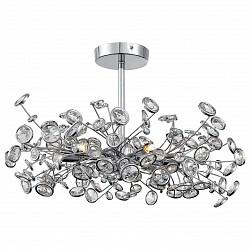 Люстра на штанге ST-Luce5 или 6 ламп<br>Артикул - SL782.102.06,Бренд - ST-Luce (Китай),Коллекция - Anello,Гарантия, месяцы - 24,Высота, мм - 360,Диаметр, мм - 560,Размер упаковки, мм - 590x590x295,Тип лампы - галогенновая,Общее кол-во ламп - 6,Напряжение питания лампы, В - 220,Максимальная мощность лампы, Вт - 28,Лампы в комплекте - галогенновые G9,Цвет плафонов и подвесок - неокрашенный,Тип поверхности плафонов - прозрачный,Материал плафонов и подвесок - хрусталь,Цвет арматуры - хром,Тип поверхности арматуры - глянцевый,Материал арматуры - металл,Возможность подлючения диммера - можно,Форма и тип колбы - пальчиковая,Тип цоколя лампы - G9,Класс электробезопасности - I,Общая мощность, Вт - 168,Степень пылевлагозащиты, IP - 20,Диапазон рабочих температур - комнатная температура,Дополнительные параметры - способ крепления светильника к потолку – на монтажной пластине<br>