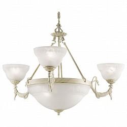 Подвесная люстра Arte Lamp5 или 6 ламп<br>Артикул - AR_A8777LM-3-3WG,Бренд - Arte Lamp (Италия),Коллекция - Atlas neo,Гарантия, месяцы - 24,Высота, мм - 490-1420,Диаметр, мм - 820,Тип лампы - компактная люминесцентная [КЛЛ] ИЛИнакаливания ИЛИсветодиодная [LED],Общее кол-во ламп - 6,Напряжение питания лампы, В - 220,Максимальная мощность лампы, Вт - 40,Лампы в комплекте - отсутствуют,Цвет плафонов и подвесок - белый,Тип поверхности плафонов - матовый,Материал плафонов и подвесок - стекло,Цвет арматуры - белый, золото,Тип поверхности арматуры - глянцевый,Материал арматуры - металл,Возможность подлючения диммера - можно, если установить лампу накаливания,Тип цоколя лампы - E14,Класс электробезопасности - I,Общая мощность, Вт - 240,Степень пылевлагозащиты, IP - 20,Диапазон рабочих температур - комнатная температура,Дополнительные параметры - способ крепления светильника к потолку – на монтажной пластине или крюке<br>