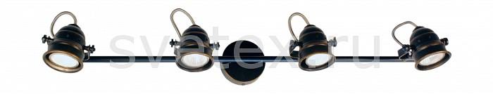 Спот CitiluxСпоты<br>Артикул - CL537541,Бренд - Citilux (Дания),Коллекция - Веймар,Длина, мм - 740,Ширина, мм - 90,Выступ, мм - 160,Тип лампы - галогеновая,Общее кол-во ламп - 4,Напряжение питания лампы, В - 220,Максимальная мощность лампы, Вт - 50,Цвет лампы - белый теплый,Лампы в комплекте - галогеновые GU10,Цвет плафонов и подвесок - коричневый,Тип поверхности плафонов - матовый,Материал плафонов и подвесок - металл,Цвет арматуры - коричневый, хром,Тип поверхности арматуры - матовый, глянцевый,Материал арматуры - металл,Количество плафонов - 4,Возможность подлючения диммера - можно,Форма и тип колбы - полусферическая с рефлектором,Тип цоколя лампы - GU10,Цветовая температура, K - 2800 - 3200 K,Экономичнее лампы накаливания - на 50%,Класс электробезопасности - I,Общая мощность, Вт - 200,Степень пылевлагозащиты, IP - 20,Диапазон рабочих температур - комнатная температура,Дополнительные параметры - поворотный светильник<br>