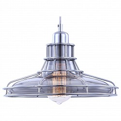 Подвесной светильник GloboС 1 плафоном<br>Артикул - GB_15147,Бренд - Globo (Австрия),Коллекция - Donna,Гарантия, месяцы - 24,Высота, мм - 1200,Диаметр, мм - 270,Размер упаковки, мм - 150x150x60,Тип лампы - накаливания,Общее кол-во ламп - 1,Напряжение питания лампы, В - 220,Максимальная мощность лампы, Вт - 60,Лампы в комплекте - накаливания E27,Цвет плафонов и подвесок - неоерашенный , хром,Тип поверхности плафонов - глянцевый, прозрачный,Материал плафонов и подвесок - металл, стекло,Цвет арматуры - хром,Тип поверхности арматуры - глянцевый,Материал арматуры - металл,Возможность подлючения диммера - можно,Форма и тип колбы - конусная,Тип цоколя лампы - E27,Класс электробезопасности - I,Степень пылевлагозащиты, IP - 20,Диапазон рабочих температур - комнатная температура,Дополнительные параметры - способ крепления светильника к потолку - на монтажной пластине<br>
