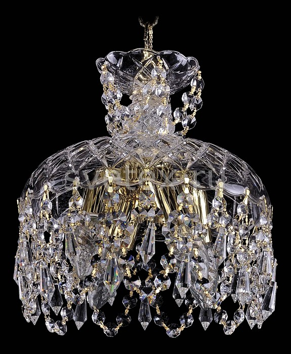 Фото Подвесной светильник Bohemia Ivele Crystal 7711 7711/25/G/Drops