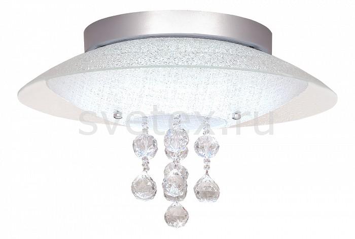 Накладной светильник SilverLightКруглые<br>Артикул - SL_845.40.7,Бренд - SilverLight (Франция),Коллекция - Diamond,Гарантия, месяцы - 24,Время изготовления, дней - 1,Высота, мм - 250,Диаметр, мм - 400,Размер упаковки, мм - 445x445x125,Тип лампы - светодиодная [LED],Общее кол-во ламп - 1,Максимальная мощность лампы, Вт - 24,Лампы в комплекте - светодиодная [LED],Цвет плафонов и подвесок - белый, неокрашенный,Тип поверхности плафонов - матовый, прозрачный,Материал плафонов и подвесок - стекло, хрусталь,Цвет арматуры - хром,Тип поверхности арматуры - глянцевый,Материал арматуры - металл,Количество плафонов - 1,Возможность подлючения диммера - нельзя,Световой поток, лм - 3800,Экономичнее лампы накаливания - в 10 раз,Светоотдача, лм/Вт - 158,Класс электробезопасности - I,Напряжение питания, В - 220,Степень пылевлагозащиты, IP - 20,Диапазон рабочих температур - комнатная температура,Дополнительные параметры - способ крепления светильника к потолку - на монтажной пластине<br>