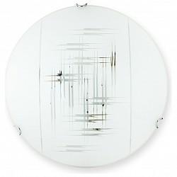 Накладной светильник TopLightКруглые<br>Артикул - TPL_TL9152Y-02WH,Бренд - TopLight (Россия),Коллекция - Zier,Гарантия, месяцы - 24,Диаметр, мм - 300,Размер упаковки, мм - 350x120x350,Тип лампы - компактная люминесцентная [КЛЛ] ИЛИнакаливания ИЛИсветодиодная [LED],Общее кол-во ламп - 2,Напряжение питания лампы, В - 220,Максимальная мощность лампы, Вт - 60,Лампы в комплекте - отсутствуют,Цвет плафонов и подвесок - белый с неокрашенным рисунком,Тип поверхности плафонов - матовый,Материал плафонов и подвесок - стекло,Цвет арматуры - хром,Тип поверхности арматуры - глянцевый,Материал арматуры - металл,Возможность подлючения диммера - можно, если установить лампу накаливания,Тип цоколя лампы - E27,Класс электробезопасности - I,Общая мощность, Вт - 120,Степень пылевлагозащиты, IP - 20,Диапазон рабочих температур - комнатная температура,Дополнительные параметры - способ крепления светильника к потолку и к стене - на монтажной пластине<br>
