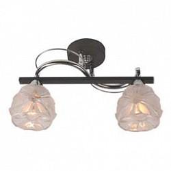 Накладной светильник IDLampСветодиодные<br>Артикул - ID_218_2PF-Blackchrome,Бренд - IDLamp (Италия),Коллекция - 218,Высота, мм - 240,Тип лампы - компактная люминесцентная [КЛЛ] ИЛИнакаливания ИЛИсветодиодная [LED],Общее кол-во ламп - 2,Напряжение питания лампы, В - 220,Максимальная мощность лампы, Вт - 60,Лампы в комплекте - отсутствуют,Цвет плафонов и подвесок - неокрашенный,Тип поверхности плафонов - матовый, рельефный,Материал плафонов и подвесок - стекло,Цвет арматуры - хром, черный,Тип поверхности арматуры - глянцевый, матовый,Материал арматуры - металл,Возможность подлючения диммера - можно, если установить лампу накаливания,Тип цоколя лампы - E14,Класс электробезопасности - I,Общая мощность, Вт - 120,Степень пылевлагозащиты, IP - 20,Диапазон рабочих температур - комнатная температура,Дополнительные параметры - способ крепления светильника к потолку – на монтажной пластине<br>