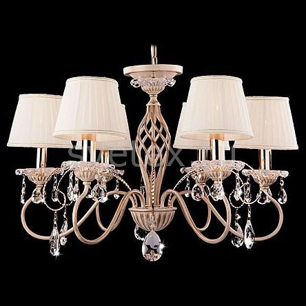 Подвесная люстра StrotskisСветильники<br>Артикул - EV_73012,Бренд - Strotskis (Китай),Коллекция - 10013,Гарантия, месяцы - 24,Высота, мм - 970,Диаметр, мм - 690,Тип лампы - компактная люминесцентная [КЛЛ] ИЛИнакаливания ИЛИсветодиодная [LED],Общее кол-во ламп - 6,Напряжение питания лампы, В - 220,Максимальная мощность лампы, Вт - 40,Лампы в комплекте - отсутствуют,Цвет плафонов и подвесок - белый с каймой, неокрашенный,Тип поверхности плафонов - матовый, прозрачный,Материал плафонов и подвесок - текстиль, хрусталь,Цвет арматуры - белый, золото,Тип поверхности арматуры - глянцевый, матовый, рельфный,Материал арматуры - металл,Количество плафонов - 6,Возможность подлючения диммера - можно, если установить лампу накаливания,Тип цоколя лампы - E14,Класс электробезопасности - I,Общая мощность, Вт - 240,Степень пылевлагозащиты, IP - 20,Диапазон рабочих температур - комнатная температура,Дополнительные параметры - способ крепления светильника к потолку - на крюке, регулируется по высоте<br>