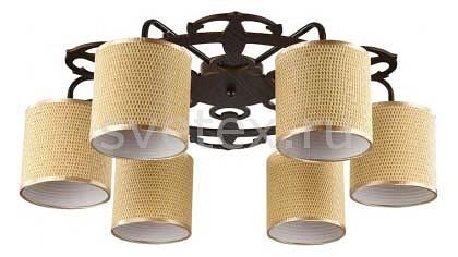 Потолочная люстра FreyaСветильники<br>Артикул - MY_FR100-06-R,Бренд - Freya (Германия),Коллекция - Timone,Гарантия, месяцы - 24,Высота, мм - 200,Диаметр, мм - 630,Тип лампы - компактная люминесцентная [КЛЛ] ИЛИнакаливания ИЛИсветодиодная  [LED],Общее кол-во ламп - 5,Напряжение питания лампы, В - 220,Максимальная мощность лампы, Вт - 40,Лампы в комплекте - отсутствуют,Цвет плафонов и подвесок - желтый с каймой,Тип поверхности плафонов - матовый,Материал плафонов и подвесок - рогожка,Цвет арматуры - коричневый,Тип поверхности арматуры - матовый,Материал арматуры - металл,Количество плафонов - 5,Возможность подлючения диммера - можно, если установить лампу накаливания,Тип цоколя лампы - E14,Класс электробезопасности - I,Общая мощность, Вт - 200,Степень пылевлагозащиты, IP - 20,Диапазон рабочих температур - комнатная температура,Дополнительные параметры - способ крепления светильника к потолку - на монтажной пластине<br>