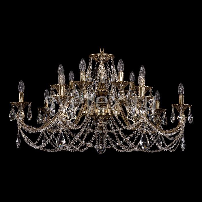 Подвесная люстра Bohemia Ivele CrystalБолее 6 ламп<br>Артикул - BI_1703_14_360_C_GB,Бренд - Bohemia Ivele Crystal (Чехия),Коллекция - 1703,Гарантия, месяцы - 24,Высота, мм - 550,Диаметр, мм - 980,Размер упаковки, мм - 710x710x240,Тип лампы - компактная люминесцентная [КЛЛ] ИЛИнакаливания ИЛИсветодиодная [LED],Общее кол-во ламп - 14,Напряжение питания лампы, В - 220,Максимальная мощность лампы, Вт - 40,Лампы в комплекте - отсутствуют,Цвет плафонов и подвесок - неокрашенный,Тип поверхности плафонов - прозрачный,Материал плафонов и подвесок - хрусталь,Цвет арматуры - золото черненое,Тип поверхности арматуры - глянцевый, рельефный,Материал арматуры - латунь,Возможность подлючения диммера - можно, если установить лампу накаливания,Форма и тип колбы - свеча ИЛИ свеча на ветру,Тип цоколя лампы - E14,Класс электробезопасности - I,Общая мощность, Вт - 560,Степень пылевлагозащиты, IP - 20,Диапазон рабочих температур - комнатная температура,Дополнительные параметры - способ крепления светильника к потолку - на крюке, указана высота светильника без подвеса<br>