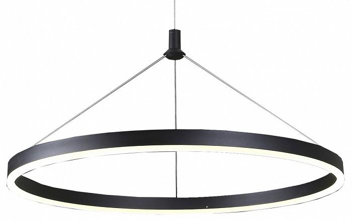 Подвесной светильник Kink LightДля кухни<br>Артикул - KL_08213.19,Бренд - Kink Light (Китай),Коллекция - Тор,Гарантия, месяцы - 24,Высота, мм - 1100,Диаметр, мм - 600,Размер упаковки, мм - 110x670x670,Тип лампы - светодиодная [LED],Общее кол-во ламп - 1,Напряжение питания лампы, В - 220,Максимальная мощность лампы, Вт - 36,Цвет лампы - белый,Лампы в комплекте - светодиодная [LED],Цвет плафонов и подвесок - черный,Тип поверхности плафонов - матовый,Материал плафонов и подвесок - акрил,Цвет арматуры - черный,Тип поверхности арматуры - матовый,Материал арматуры - металл,Количество плафонов - 1,Возможность подлючения диммера - нельзя,Цветовая температура, K - 4000 K,Световой поток, лм - 3240,Экономичнее лампы накаливания - В 5, 9 раза,Светоотдача, лм/Вт - 90,Класс электробезопасности - I,Степень пылевлагозащиты, IP - 20,Диапазон рабочих температур - комнатная температура,Дополнительные параметры - способ крепления светильника к потолку - на монтажной пластине, светильник регулируется по высоте<br>