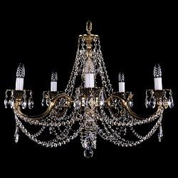 Подвесная люстра Bohemia Ivele Crystal5 или 6 ламп<br>Артикул - BI_1702_5C_GB,Бренд - Bohemia Ivele Crystal (Чехия),Коллекция - 1702,Гарантия, месяцы - 12,Высота, мм - 550,Диаметр, мм - 700,Размер упаковки, мм - 510x510x200,Тип лампы - компактная люминесцентная [КЛЛ] ИЛИнакаливания ИЛИсветодиодная [LED],Общее кол-во ламп - 5,Напряжение питания лампы, В - 220,Максимальная мощность лампы, Вт - 40,Лампы в комплекте - отсутствуют,Цвет плафонов и подвесок - неокрашенный,Тип поверхности плафонов - прозрачный,Материал плафонов и подвесок - хрусталь,Цвет арматуры - золото черненое,Тип поверхности арматуры - глянцевый, рельефный,Материал арматуры - металл,Возможность подлючения диммера - можно, если установить лампу накаливания,Форма и тип колбы - свеча ИЛИ свеча на ветру,Тип цоколя лампы - E14,Класс электробезопасности - I,Общая мощность, Вт - 200,Степень пылевлагозащиты, IP - 20,Диапазон рабочих температур - комнатная температура,Дополнительные параметры - способ крепления светильника к потолку – на крюке<br>