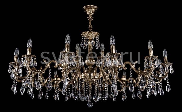 Фото Подвесная люстра Bohemia Ivele Crystal 1703 1703/21/360_265/A/GB