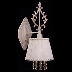 Бра EurosvetТекстильный плафон<br>Артикул - EV_65945,Бренд - Eurosvet (Китай),Коллекция - 22803,Гарантия, месяцы - 24,Высота, мм - 350,Тип лампы - компактная люминесцентная [КЛЛ] ИЛИнакаливания ИЛИсветодиодная [LED],Общее кол-во ламп - 1,Напряжение питания лампы, В - 220,Максимальная мощность лампы, Вт - 40,Лампы в комплекте - отсутствуют,Цвет плафонов и подвесок - белый с каймой, тонированный,Тип поверхности плафонов - матовый, прозрачный,Материал плафонов и подвесок - текстиль, хрусталь,Цвет арматуры - белый, золото,Тип поверхности арматуры - матовый, рельефный,Материал арматуры - металл,Возможность подлючения диммера - можно, если установить лампу накаливания,Тип цоколя лампы - E14,Класс электробезопасности - I,Степень пылевлагозащиты, IP - 20,Диапазон рабочих температур - комнатная температура,Дополнительные параметры - способ крепления светильника на стене – на монтажной пластине, светильник предназначен для использования со скрытой проводкой<br>