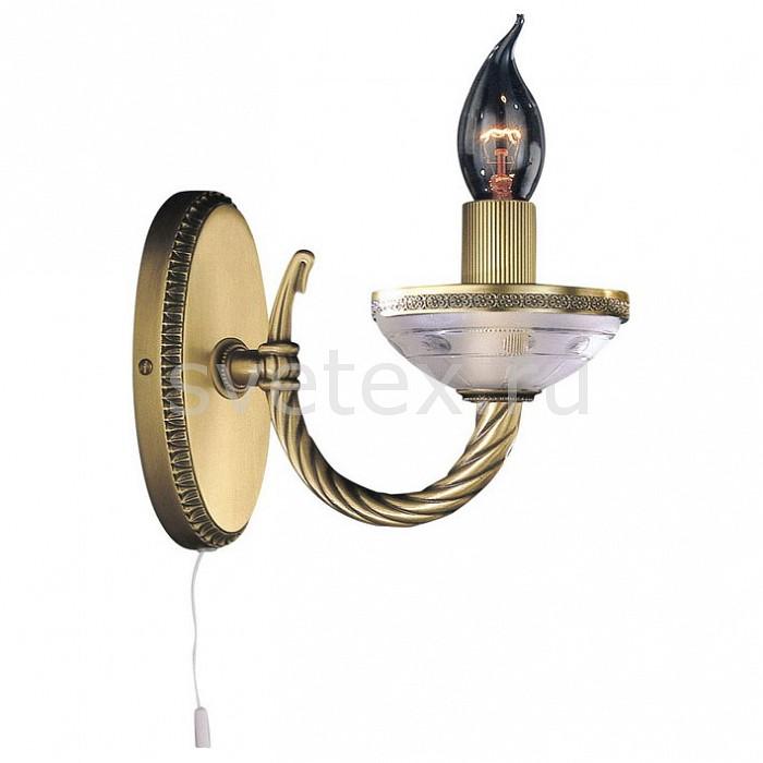 Бра Reccagni AngeloНастенные светильники<br>Артикул - RA_A_4650_1,Бренд - Reccagni Angelo (Италия),Коллекция - 4650,Гарантия, месяцы - 24,Высота, мм - 180,Выступ, мм - 210,Тип лампы - компактная люминесцентная [КЛЛ] ИЛИнакаливания ИЛИсветодиодная [LED],Общее кол-во ламп - 1,Напряжение питания лампы, В - 220,Максимальная мощность лампы, Вт - 60,Лампы в комплекте - отсутствуют,Цвет арматуры - бронза состаренная, неокрашенный с рисунком,Тип поверхности арматуры - матовый, рельефный,Материал арматуры - латунь, стекло,Наличие выключателя, диммера или пульта ДУ - выключатель шнуровой,Возможность подлючения диммера - можно, если установить лампу накаливания,Форма и тип колбы - свеча ИЛИ свеча на ветру,Тип цоколя лампы - E14,Класс электробезопасности - I,Степень пылевлагозащиты, IP - 20,Диапазон рабочих температур - комнатная температура,Дополнительные параметры - способ крепления светильника на стене – на монтажной пластине, светильник предназначен для использования со скрытой проводкой<br>