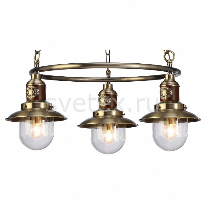 Подвесная люстра Arte LampДеревянные<br>Артикул - AR_A4524LM-3AB,Бренд - Arte Lamp (Италия),Коллекция - Sailor,Гарантия, месяцы - 24,Высота, мм - 250-750,Диаметр, мм - 650,Размер упаковки, мм - 570x570x220,Тип лампы - компактная люминесцентная [КЛЛ] ИЛИнакаливания ИЛИсветодиодная [LED],Общее кол-во ламп - 3,Напряжение питания лампы, В - 220,Максимальная мощность лампы, Вт - 60,Лампы в комплекте - отсутствуют,Цвет плафонов и подвесок - неокрашенный,Тип поверхности плафонов - прозрачный,Материал плафонов и подвесок - стекло,Цвет арматуры - бронза античная, коричневый,Тип поверхности арматуры - матовый, глянцевый,Материал арматуры - дерево, металл,Количество плафонов - 3,Возможность подлючения диммера - можно, если установить лампу накаливания,Тип цоколя лампы - E27,Класс электробезопасности - I,Общая мощность, Вт - 180,Степень пылевлагозащиты, IP - 20,Диапазон рабочих температур - комнатная температура,Дополнительные параметры - способ крепления светильника к потолку – на монтажной пластине<br>